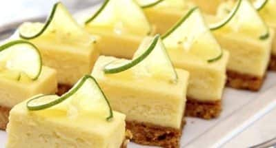 Mini Cheesecakes au Citron - Galbani