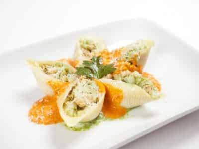 Conchiglionis à la crème de mascarpone et aux courgettes - Galbani