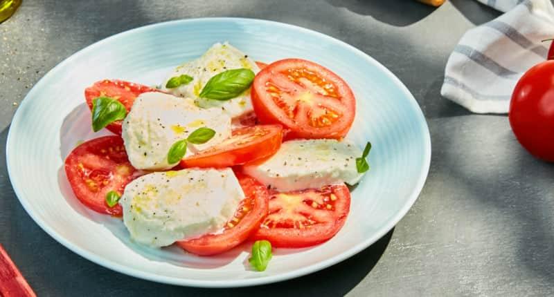 La véritable Salade Caprese - Galbani