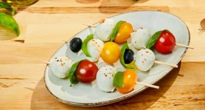 Brochettes Apéritives A La Mozzarella - Galbani