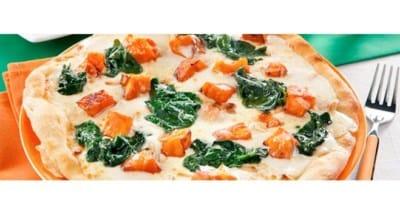 Pizza blanche aux potirons, épinards et Ricotta - Galbani