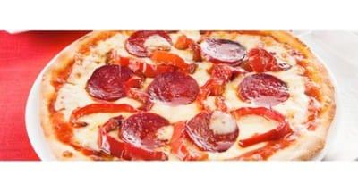 Pizza rouge aux poivrons, chorizo et tabasco - Galbani