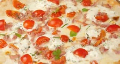 Pizza aux herbes - Galbani