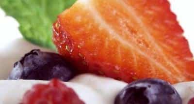 Crème de Mascarpone aux fraises - Galbani