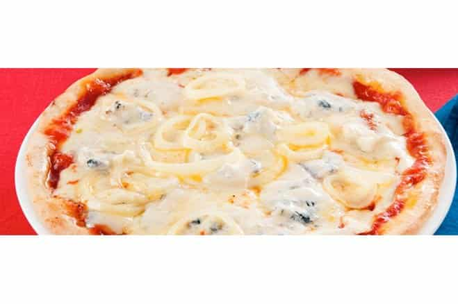 Pizza oignons et gorgonzola - Galbani