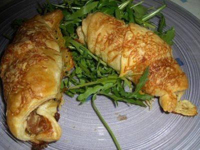croissant andouille/mozza - Galbani