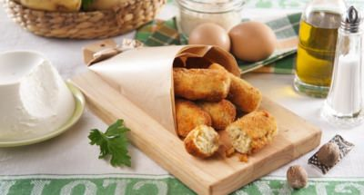 Croquettes de Pommes de Terre à La Ricotta - Galbani