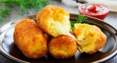 Croquettes de Pommes de Terre et Mozzarella - Galbani