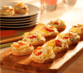 Crostinis aux piments - Galbani