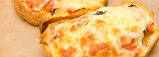 Crostini de Mozzarella et de jambon - Galbani