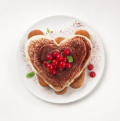 Tiramisù coeur de Saint Valentin - Galbani