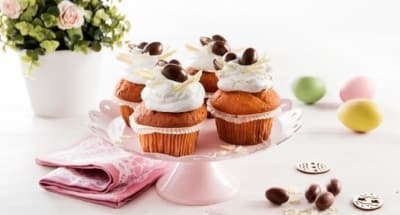 Cupcake avec glaçage au mascarpone - Galbani