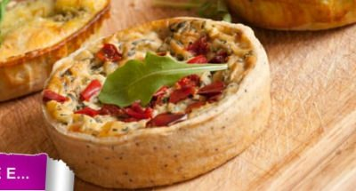 Pizza rustique aux 3 fromages - Galbani