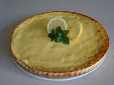 Tarte Sablée à la Ricotta et au Citron - Galbani