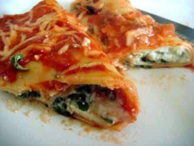 Cannelloni à la Ricotta et à la Menthe - Galbani