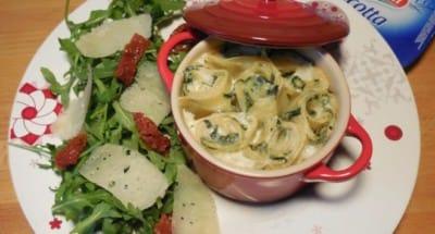 Roulés de Lasagnes à la Ricotta et sa Roquette - Galbani