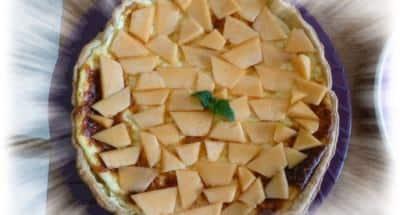 Tarte au Fromage, Melon et Ricotta - Galbani