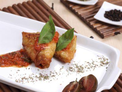 Fagottini croustillants à l'aubergine - Galbani