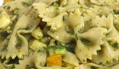 Farfalles aux courgettes - Galbani
