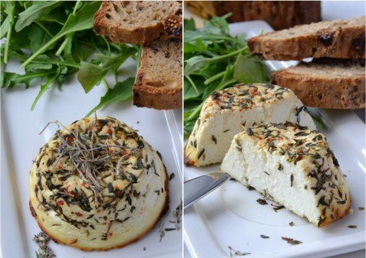 Flan de Ricotta au Thym, Piment et Parmesan - Galbani