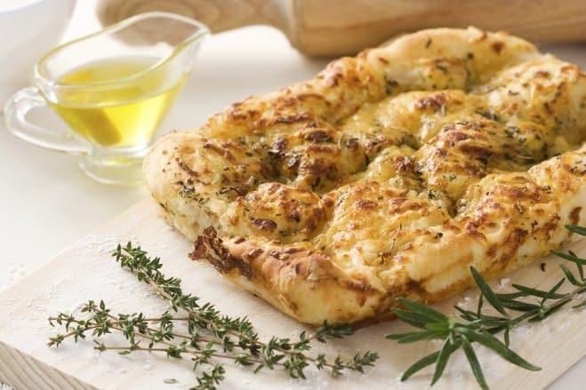 Focaccia Farcie aux Patates et à la Mozzarella - Galbani