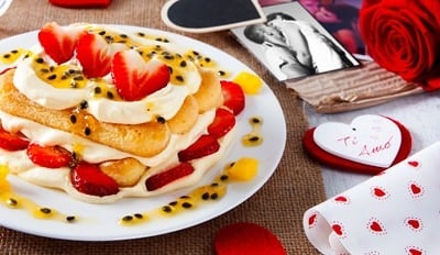 Tiramisù Fraises et Fruits de la Passion - Galbani