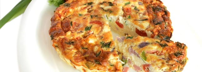 Omelette de pâtes - Galbani