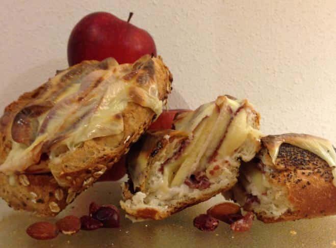 Croque Pomme et Viande de Grison - Galbani