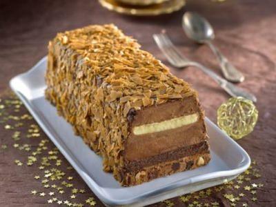 Tiramisù Croustillant Chocolat façon Bûche - Galbani