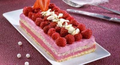 Tiramisù Fruits Rouges façon Bûche Crémeuse - Galbani