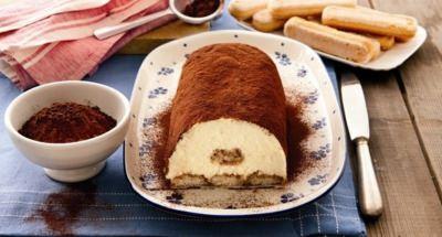 Gâteau Roulé de Tiramisù - Galbani