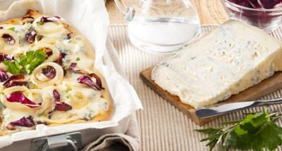 Pizza oignons, chicorée et gorgonzola - Galbani