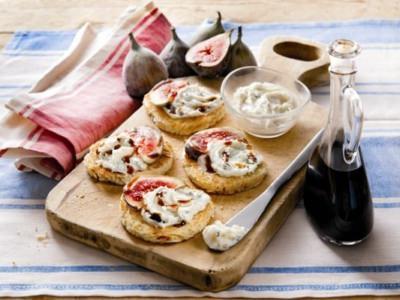 Gorgonzola, figues et vinaigre balsamique - Galbani