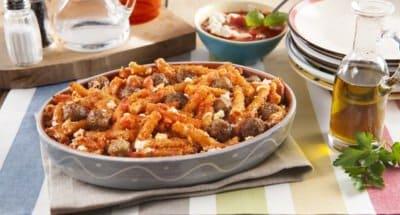 Gratin de Pâtes aux Boulettes de Viande - Galbani