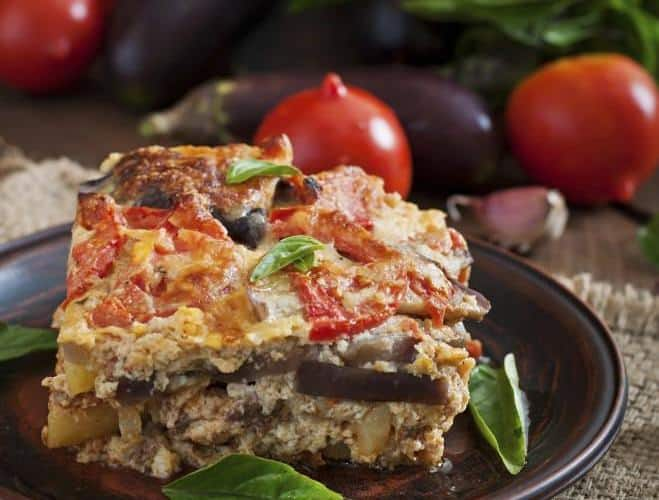 Gratin d'Aubergines, Courgettes et Pommes de Terre à la Mozzarella - Galbani