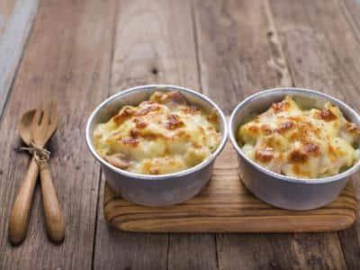Gratin de Pâtes, au Jambon et au Fromage - Galbani