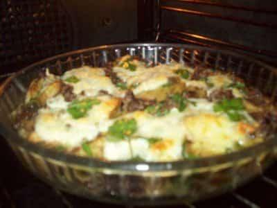 Gratin de pâtes Bolognaises et de courgettes - Galbani