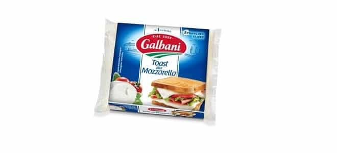 Mozzarella en tranches
