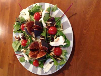 Salade figues mozarella - Galbani
