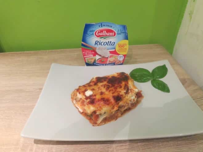 Lasagnes à la Ricotta - Galbani