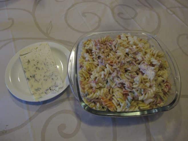 Fusilli aux lardons, sauce gorgonzola et pignons - Galbani