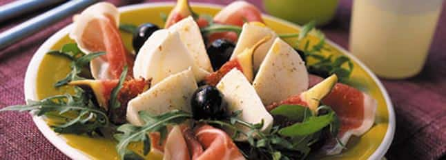 Salade estivale de Mozzarella - Galbani