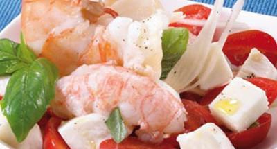 Petite Salade de Crustacés au Basilic - Galbani
