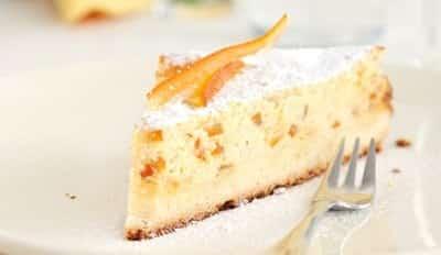 Gâteau de ricotta aux raisins secs - Galbani