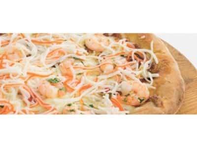 Pizza aux herbes et au saumon - Galbani