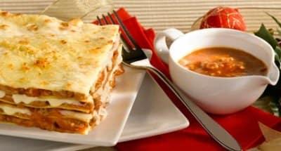 Lasagnes aux Champignons cuites au Four - Galbani
