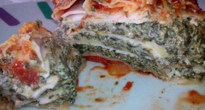 Lasagnes Epinards, Ricotta Et Au Blanc de Poulet - Galbani