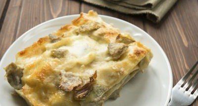 Lasagnes au Fromage, au Poivre et aux Artichauts - Galbani