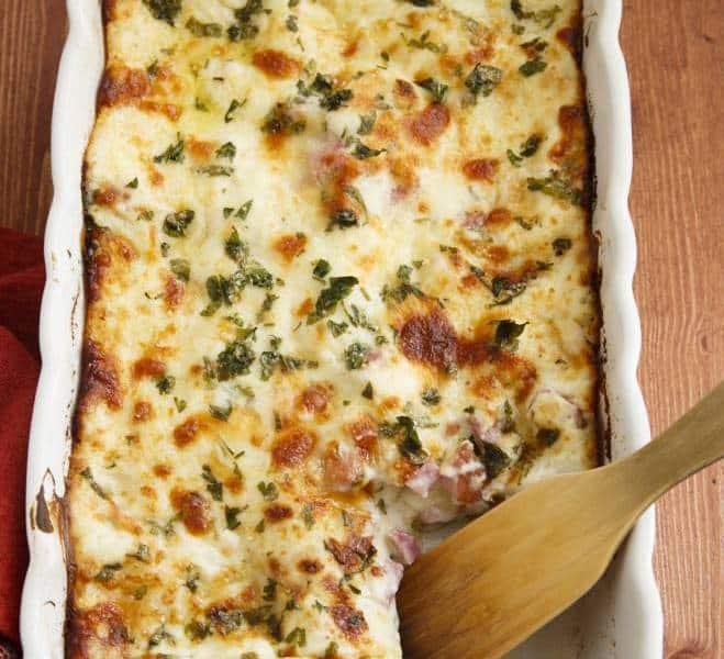Lasagnes au Jambon Speck et à la Mozzarella - Galbani