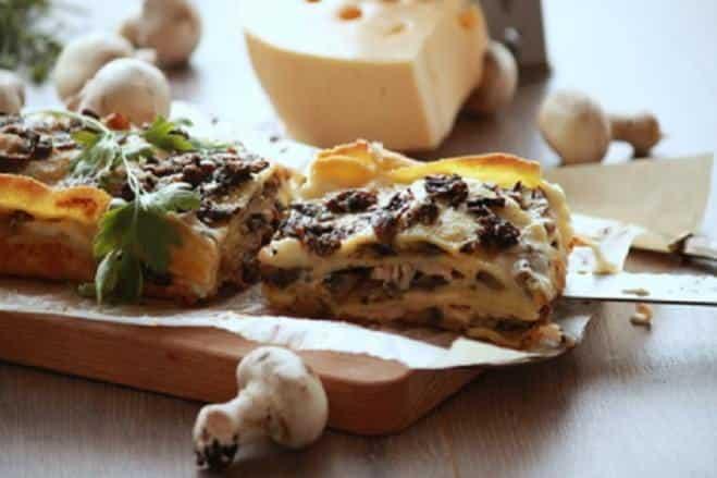 Lasagnes Blanches aux Champignons - Galbani